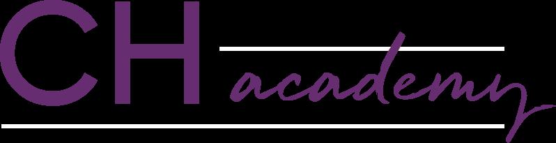 ch academy white logo